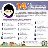 14 วิธีดูแลสุขภาพร่างกาย...ให้ปลอดภัยจากหมอกควัน